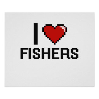 J'aime Fisher Poster