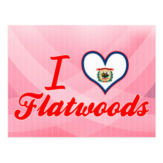 J'aime Flatwoods, la Virginie Occidentale Cartes Postales