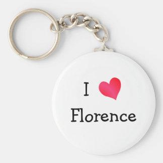 J'aime Florence Porte-clefs