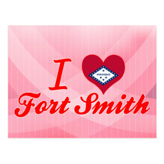 J'aime Fort Smith, Arkansas Carte Postale