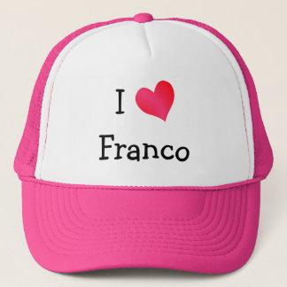J'aime Franco Casquette