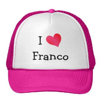J'aime Franco Casquettes De Camionneur
