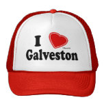 J'aime Galveston Casquette