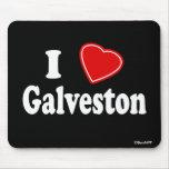 J'aime Galveston Tapis De Souris