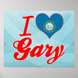 J'aime Gary, le Dakota du Sud Posters