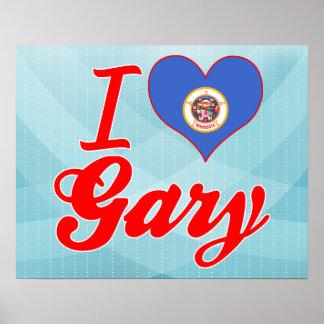 J'aime Gary, Minnesota Affiche