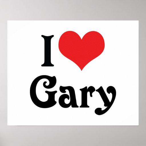J'aime Gary Affiche