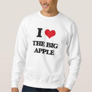 J'aime grand Apple Sweatshirt
