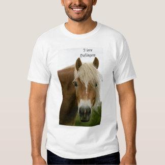 J'aime Haflingers T-shirts