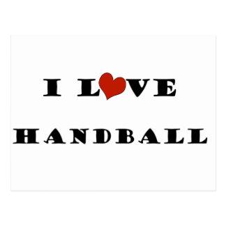 J'aime Handball.png Carte Postale