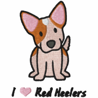 J'aime Heelers rouge