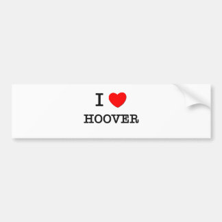 J'aime Hoover Autocollant De Voiture