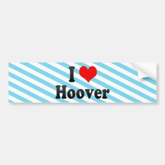 J'aime Hoover, Etats-Unis Autocollant Pour Voiture