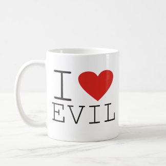 J'aime ignoble mauvais je tasse