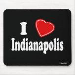 J'aime Indianapolis Tapis De Souris