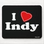 J'aime Indy Tapis De Souris