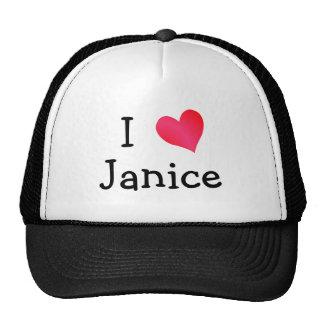 J'aime Janice Casquettes
