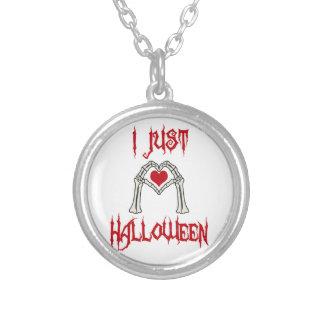 J'aime juste Halloween Collier