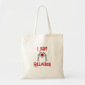 J'aime juste Halloween Tote Bag