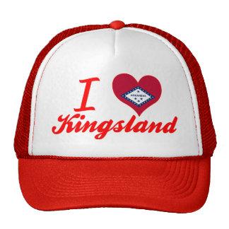 J'aime Kingsland, Arkansas Casquettes