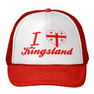 J'aime Kingsland, la Géorgie Casquette Trucker