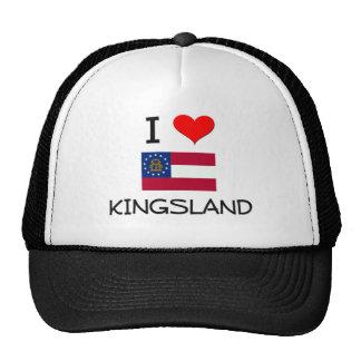 J'aime KINGSLAND la Géorgie Casquettes