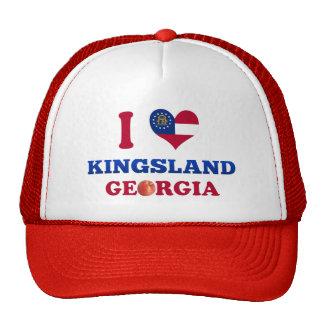 J'aime Kingsland, la Géorgie Casquette