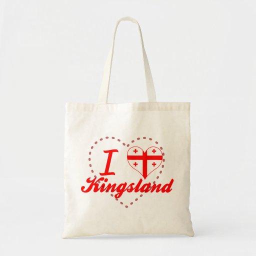 J'aime Kingsland, la Géorgie Sacs