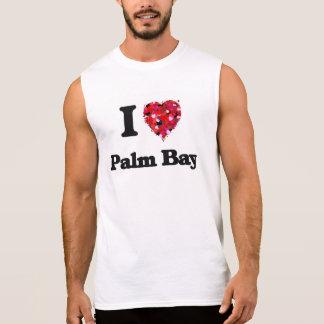 J'aime la baie la Floride de paume T-shirt Sans Manches