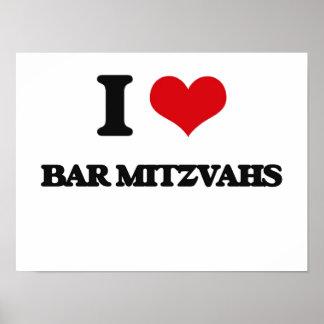 J'aime la barre Mitzvahs Posters