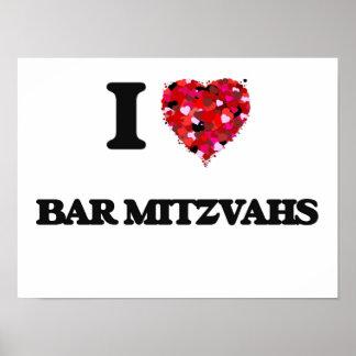 J'aime la barre Mitzvahs Poster
