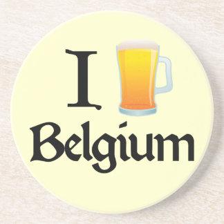 J'aime la Belgique Dessous De Verres