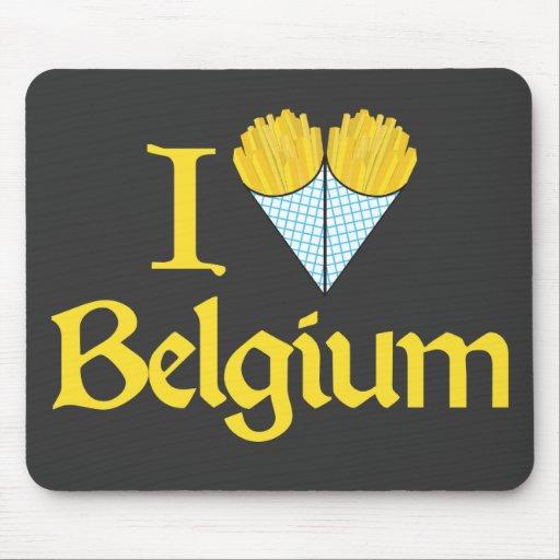 J 39 aime la belgique tapis de souris zazzle - Tapis de souris personnalise belgique ...