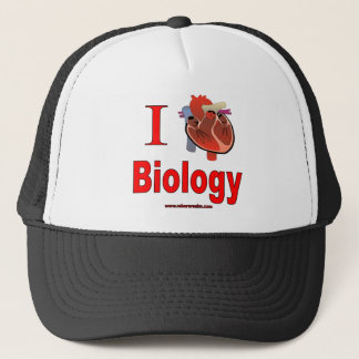 J'aime la biologie casquette