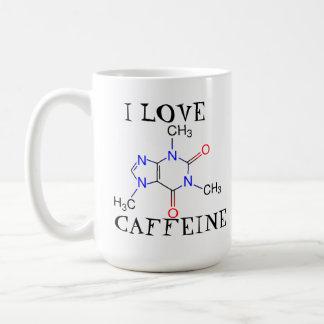 J'aime la caféine mug