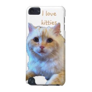J'aime la caisse de point de chats de Kitty Coque iPod Touch 5G