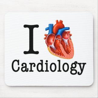 J'aime la cardiologie tapis de souris
