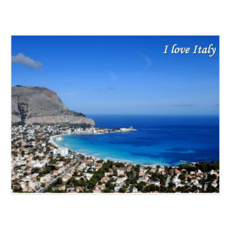 J'aime la carte postale de l'Italie