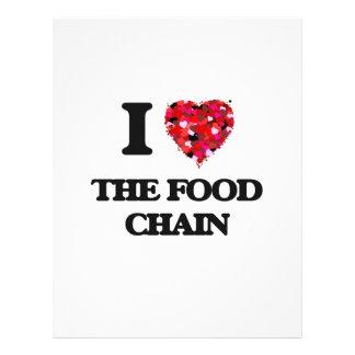 J'aime la chaîne alimentaire prospectus 21,6 cm x 24,94 cm