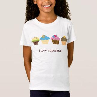 J'aime la chemise de petits gâteaux T-Shirt