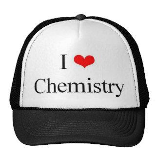 J'aime la chimie casquette trucker