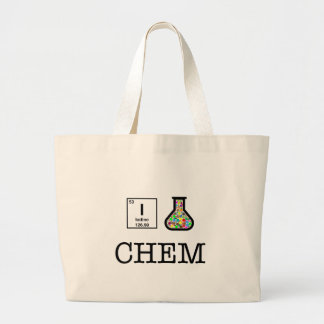 J'aime la chimie grand tote bag
