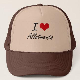 J'aime la conception artistique d'attributions casquette