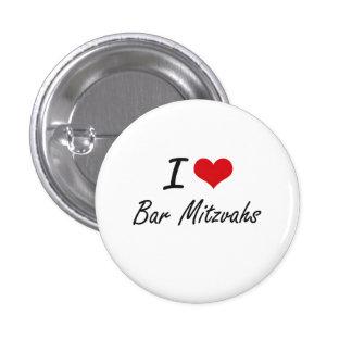 J'aime la conception artistique de Mitzvahs de Badge Rond 2,50 Cm