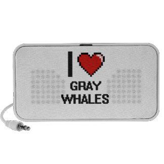 J'aime la conception de Digitals de baleines Haut-parleur De Voyage