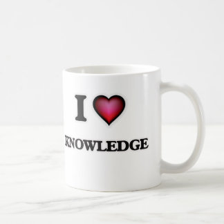 J'aime la connaissance mug