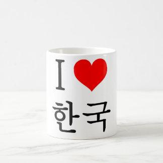 J'aime la Corée Mug Blanc