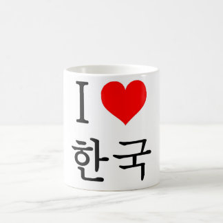 J'aime la Corée Mugs