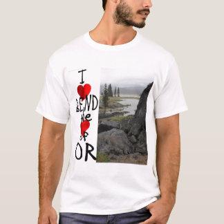 J'aime la courbure t-shirt