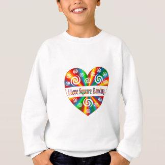 J'aime la danse carrée sweatshirt